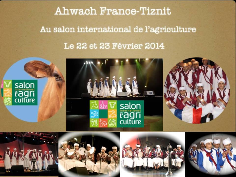 Ahwach france tiznit au salon international de l for Salon porte de versailles ce week end