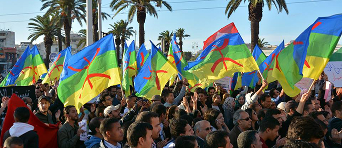 manifestation amazigh marrakech