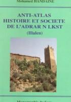 Anti-Atlas, Histoire et société de l'Adrar N Lkst